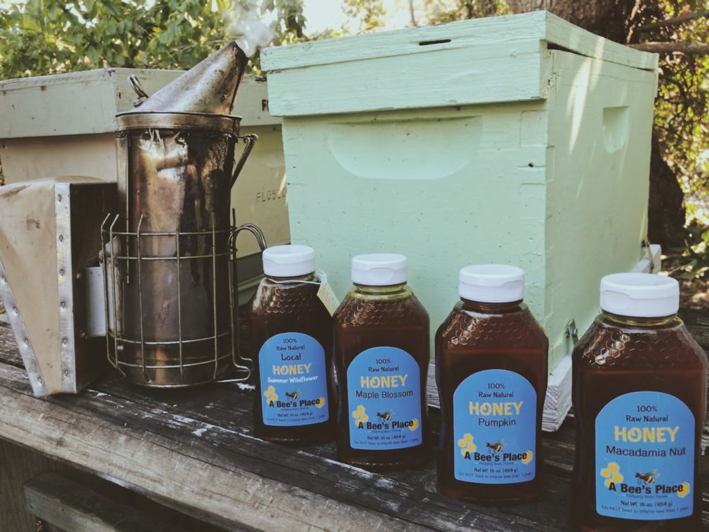 You can find A Bee's Place honey at local retailers.